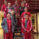 Red Devils Swim Team Boys 1st Place