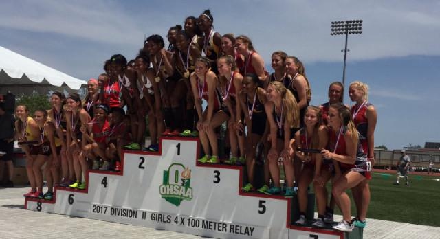 GIRLS  STATE TRACK & FIELD CHAMPIONSHIP 2017