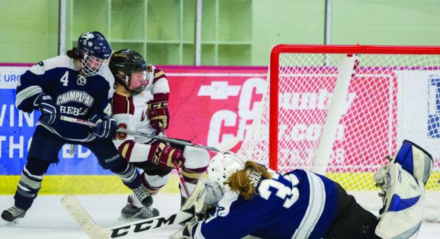 Girls Hockey: McMahon scores 4, Wente 3 in win over Rebels