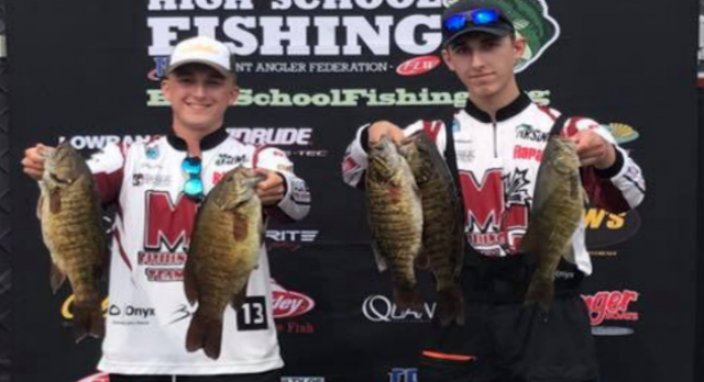 Fishing: Christianson and Caron finish 10th at Student Angler State Championship