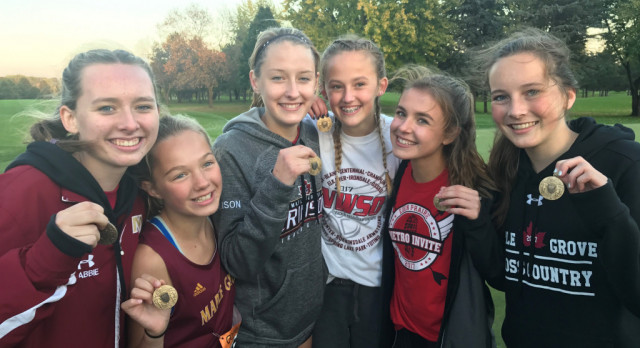 Girls Cross Country: Varsity finish 2nd, JV win NWSC Championship