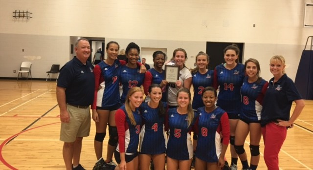 Lady Rebels Win Silver at Erskine College