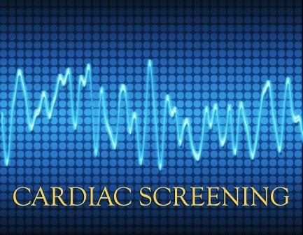 REMINDER – Last Day To Sign Up For Cardiac Screenings Is May 19th