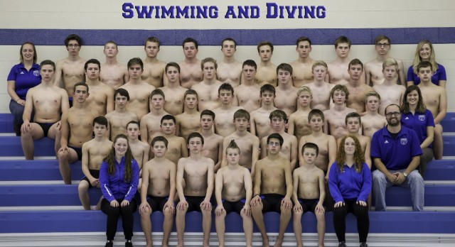 Swim and Dive Ranked 5th in State