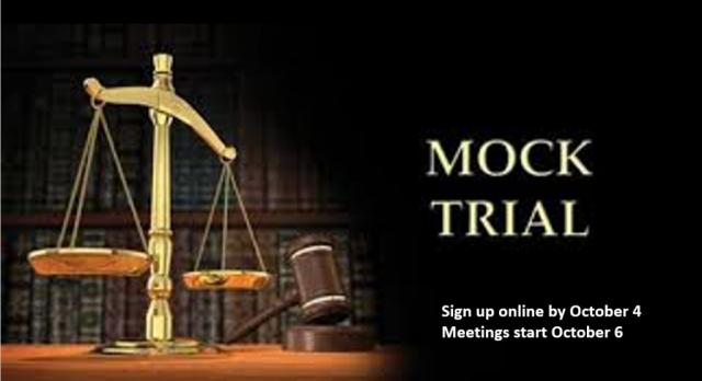 Mock Trial Registration
