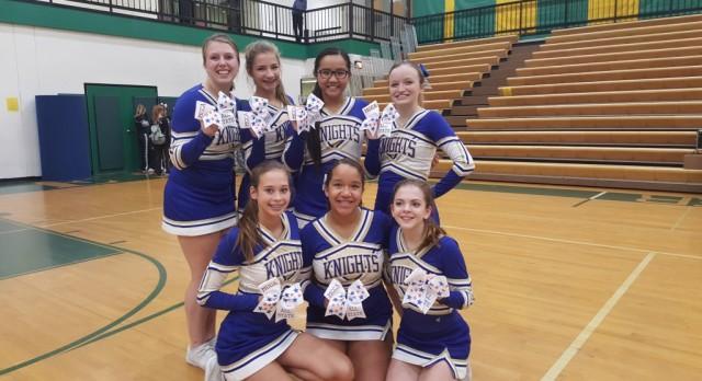 2016 All State Cheerleaders