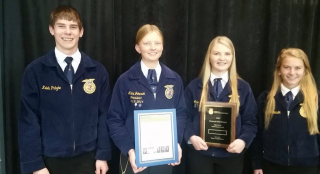 Crops Team Places in Nationals
