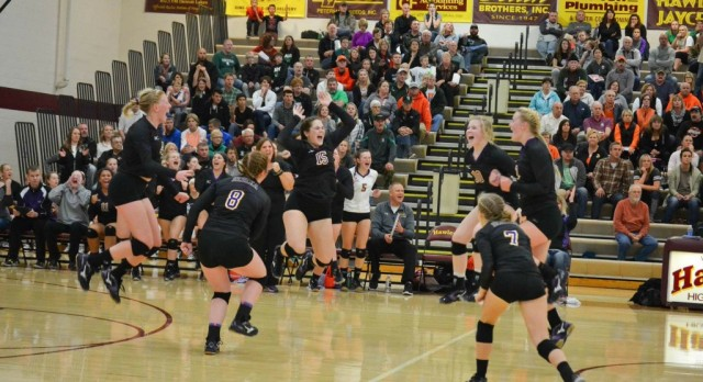 Volleyball Plays For Championship