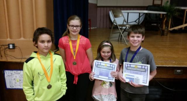 Sebeka Spelling Bee Winners