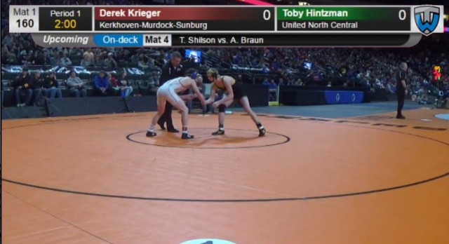 Toby Hintzman places 5th at State Tournament