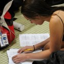 Girls Swimming & Diving vs. LaPorte  12/8/15
