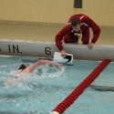 Boys Swimming and Diving  vs. Lake Central  1/26/15