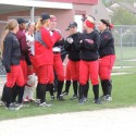 Varsity Softball vs. Lake Central  4/27/16