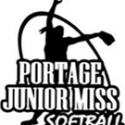 Portage Jr. Miss Softball Logo