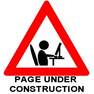 Page Under Contstruction Sign