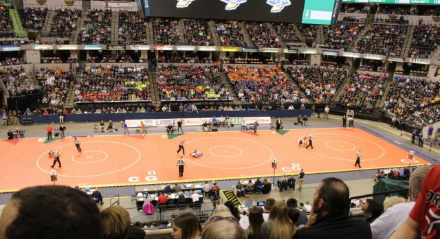 Wrestlers Finish Strong