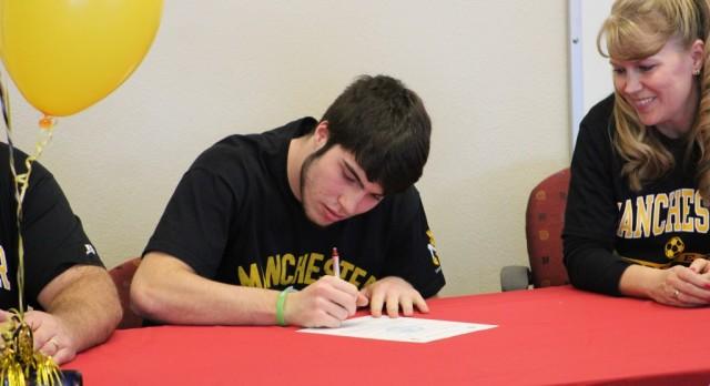 Josh Gonzalez Signing