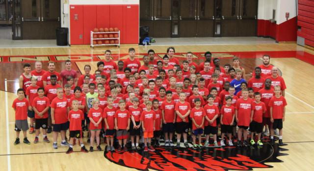 Basketball Hosts Skills Camp