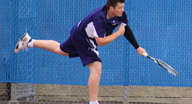 Saint Francis High School Boys Varsity Tennis beat Princeton High School 4-3
