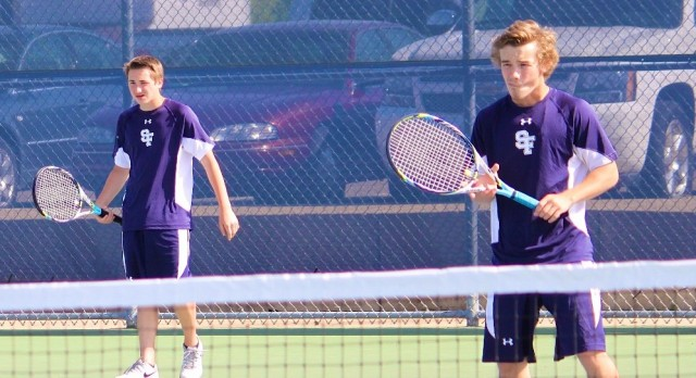 Saint Francis High School Boys Varsity Tennis falls to Buffalo High School 1-6