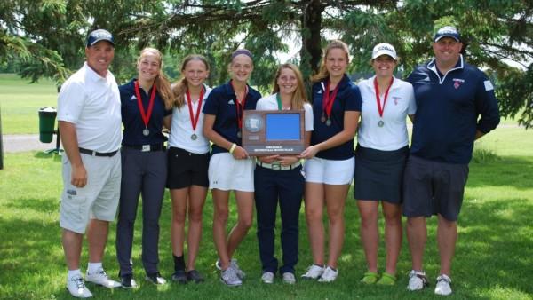 Girls Golf Section Runner-up