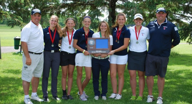 Girls Golf 2nd in 7AA; Weinman and Wagner to State