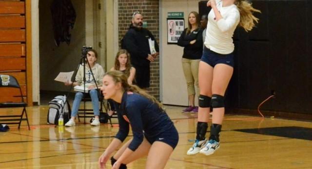 Saint Francis High School Girls Varsity Volleyball beat Coon Rapids HighSchool 3-0