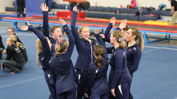 The Fighting Saints Girls Gymnastics team came up short against the Hornets  in last night's away meet in Big Lake. The Hornets brought in a team score  of ...