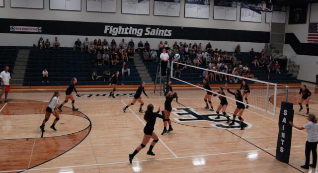 Varsity Volleyball falls to North Branch