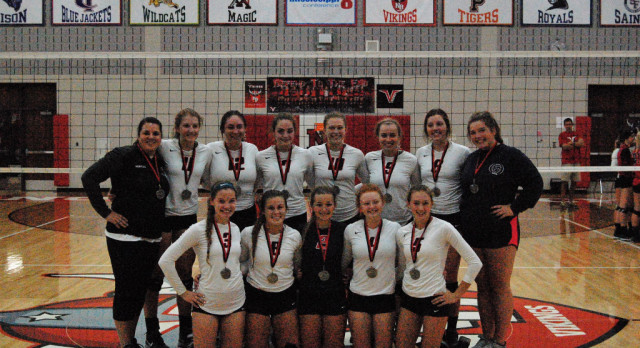 Saints Volleyball take 2nd in North Branch Invitational