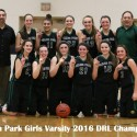 Girls Varsity Basketball – 2016 Down River League Champions