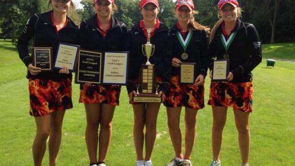 Girls Golf League Champs - 2014