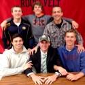 Michael Kenney Ohio University Signing Photos