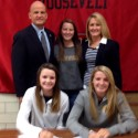 Kasey & Kelly Nielsen KSU Signing Photos