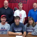 Alex McCue Athletic Signing Pictures