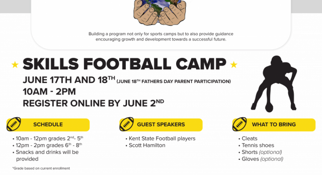 ALL Free Youth Football Skills Camp