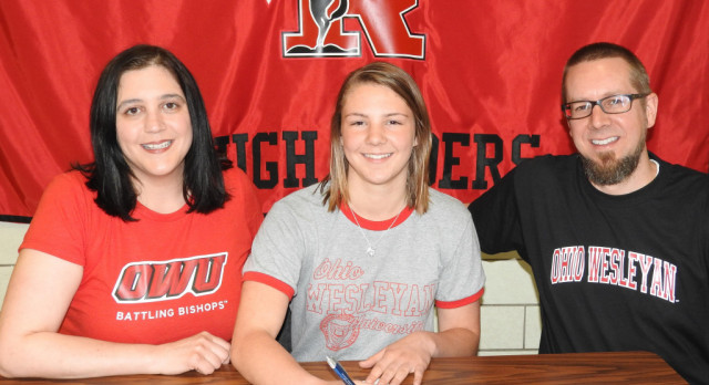 Hannah Face To Attend Ohio Wesleyan