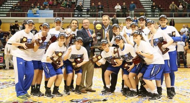 CCS Alumna part of NCAA National Championship Team!