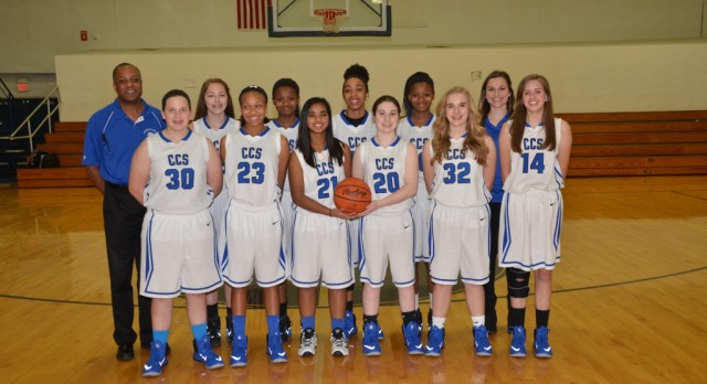 CCS Girls Basketball Jr High A Team
