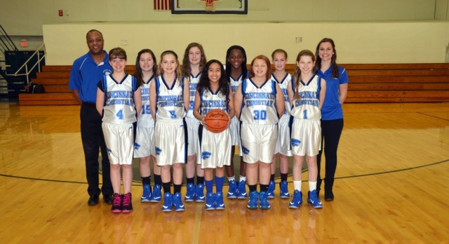 CCS Girls Basketball Jr High B Team