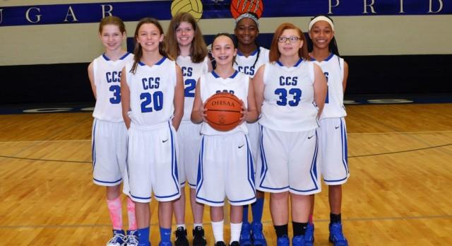 2016-17 Junior High Girls B Basketball