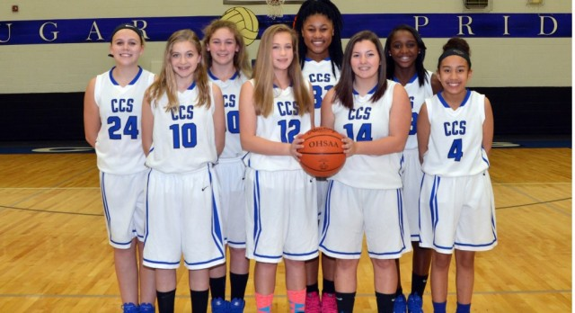 2016-17 Junior High Girls A Basketball