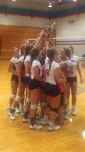 Varsity Volleyball at West Noble Tournament