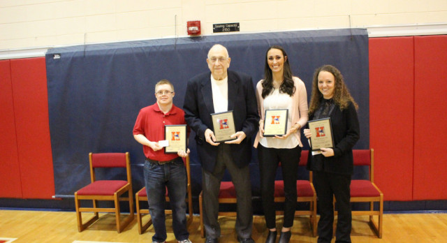 4 Inducted To Athletic Hall of Fame