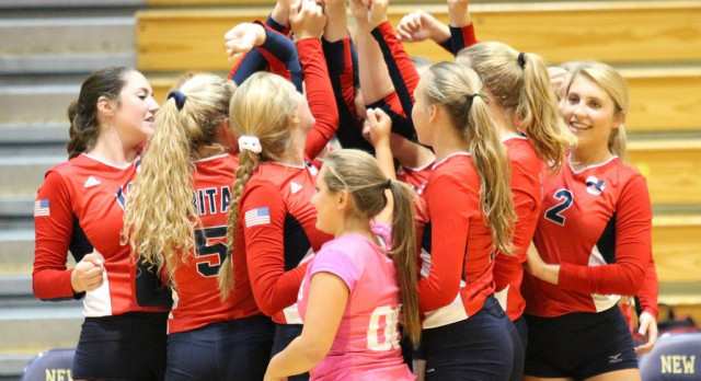Volleyball Jumps to Perfect Start