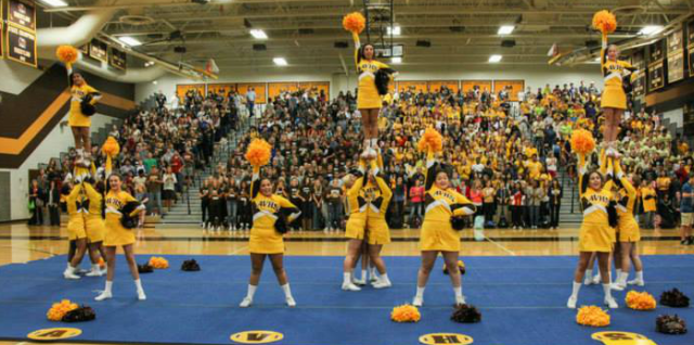 Cheer Member Earns All-State