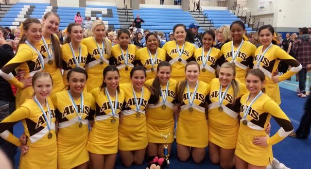 Cheer Team Wins at Jefferson