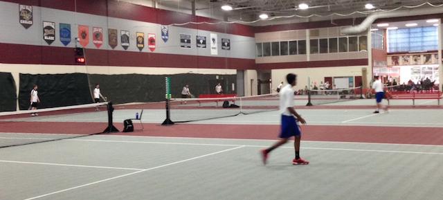 Boys Tennis Wins Title