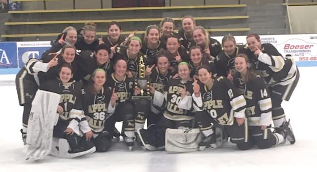 Girls Hockey Captures Burnsville Championship