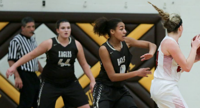 Apple Valley Girls Basketball beat Lakeville South 64-55